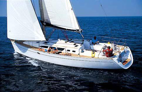 Sailing boat Jeanneau Sun Odyssey 43 - SAILING BOATS- Adriatic Charter ...